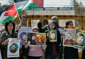 prisoner protest 2012 Ramallah