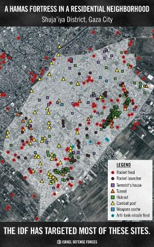 Hamas map